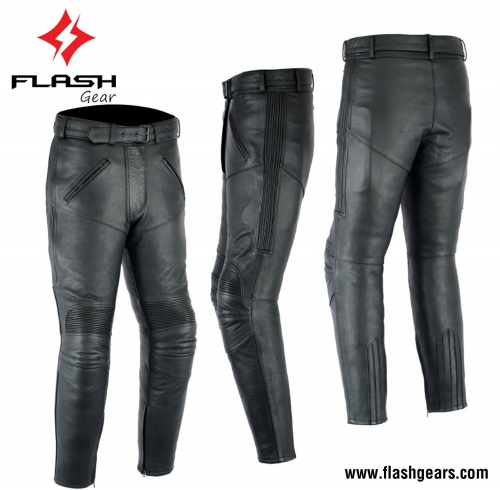 Women Leather Racing Pant