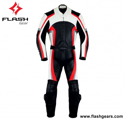 Motorcycle Best Rider Leather Two Piece Suit