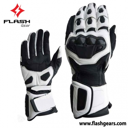 Flash Gear Motorcycle Race Gloves