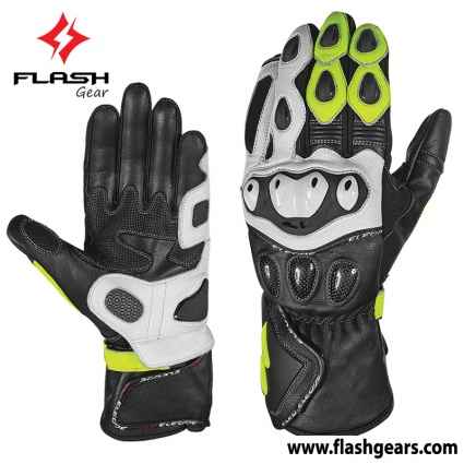 Flash Gear Windproof Carbon Race Gloves