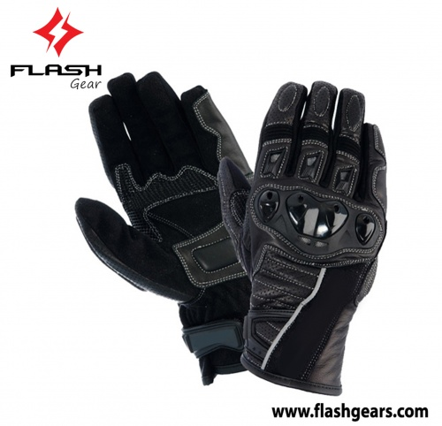 Flash Gear Motorcycle Textile Urban Motorcycle Gloves