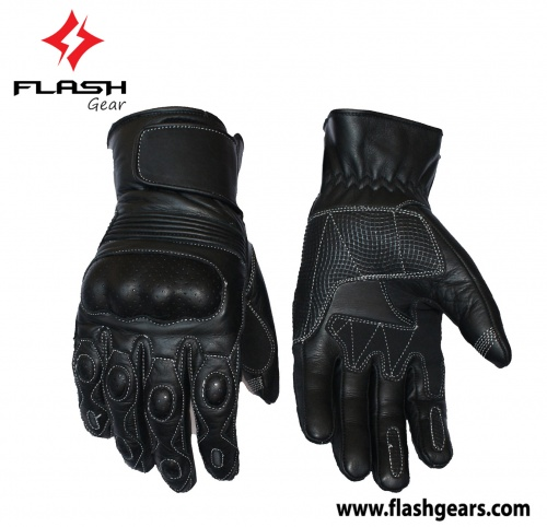 Flash Gear Leather Urban Motorcycle Gloves