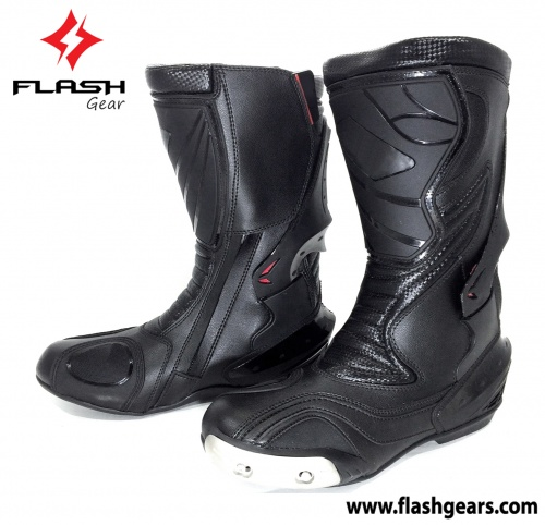 Motorcycle Semi Biker Race Boot