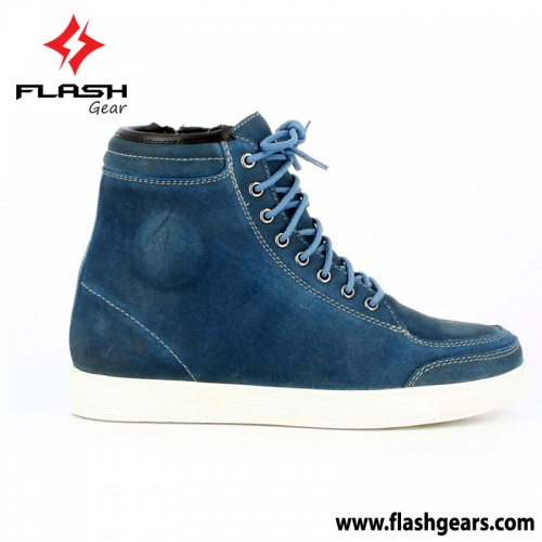 Motorcycle Original Leather Sneaker Boot