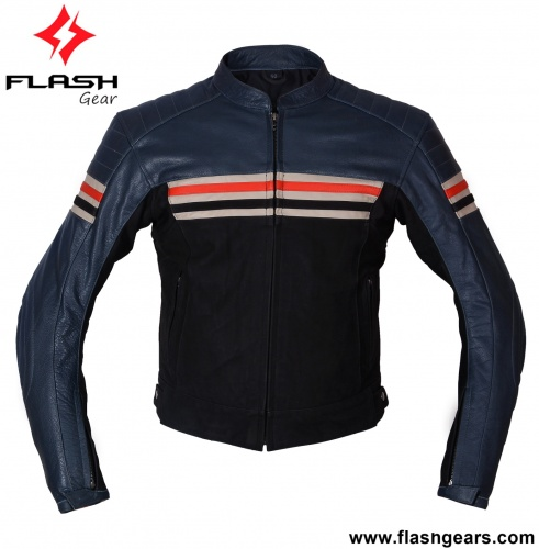 Motorcycle Fashion Cafe Biker Jacket