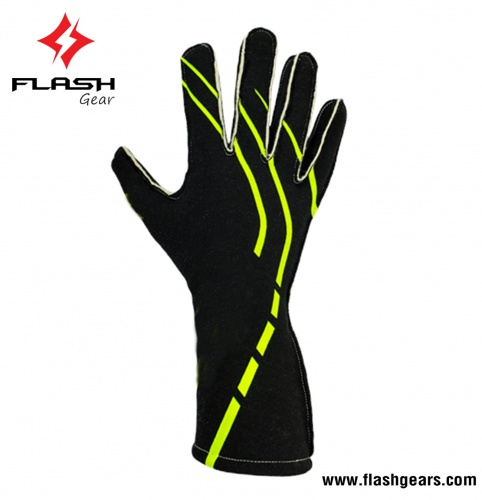 Flash Gear 2 Layer Fireproof Nomex Kart Gloves