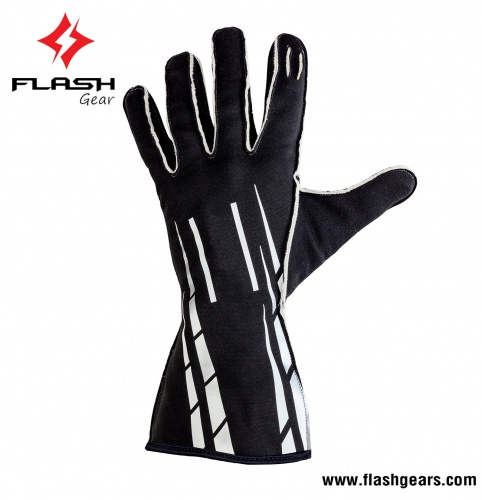 Flash Gear Customized Nomex Racing Gloves