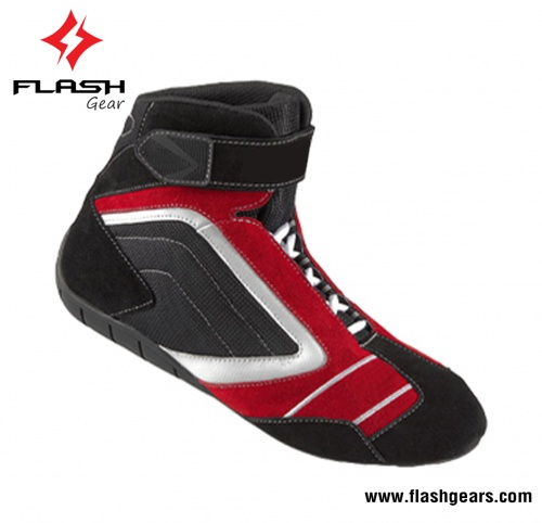 Flash Gear Leather SFI Motorsports Boots