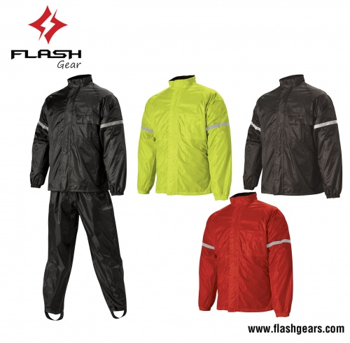 Flash Gear Best Protection Rain Jackets with Trousers