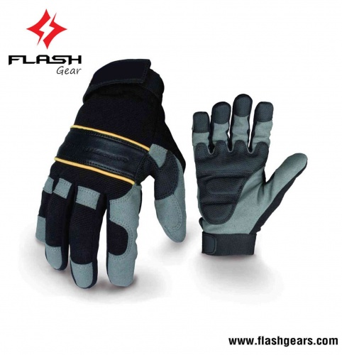 Flash Gear Best Protective Mechanics Working Safety Gloves
