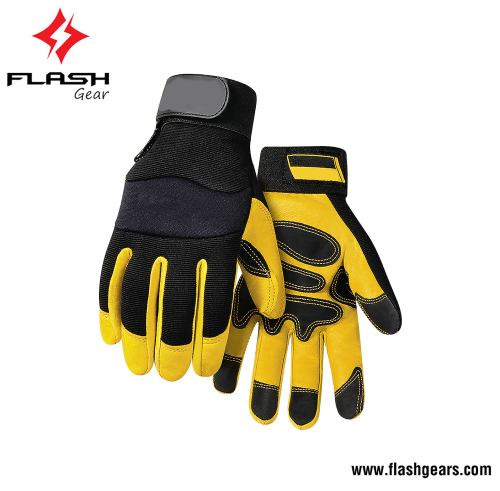 Flash Gear Synthetic Mechanics Working Safety Gloves