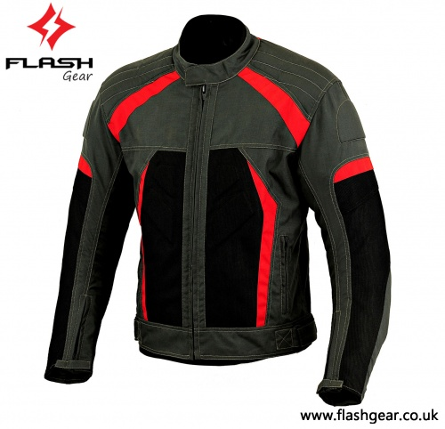 Men Textile Street Summer Mesh Jacket