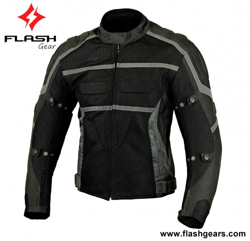 Men Textile Fashion Summer Mesh Jacket