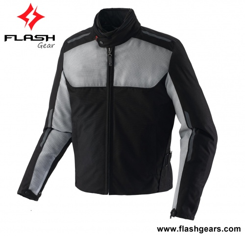 Men Textile Best Protective Summer Mesh Jacket
